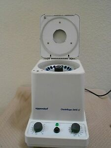 Eppendorf 5415c Centrifuge W Microtube Rotor Tested Works Beckman Sorvall Iec