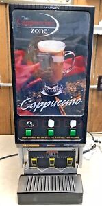 Bunn Commercial Cappuccino Machine 3 Selection Good Working Condition Local Pu