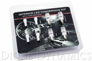 15 17 Mustang Interior Led Conversion Kit Stage 1 Cool White Diode Dynamics