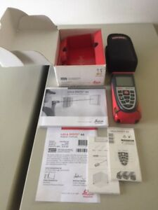 Leica Disto A5 Handheld Laser Distance Meter In Box With Case