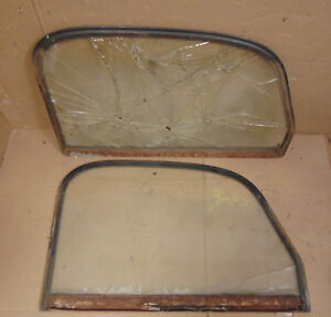 1939 1940 1941 1946 Chevrolet Gmc Pickup Truck Door Window Frames Originals