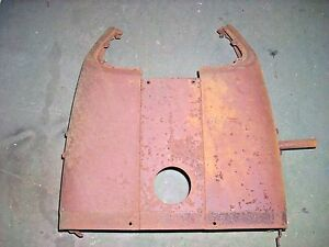 Farmall 404 Tractor Instrument Panel Housing Assembly W Side Panels 376809r1