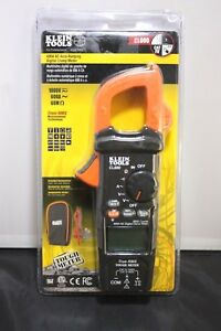 Klein Tools Cl600 Digital Clamp Meter Ac Auto 600a Look