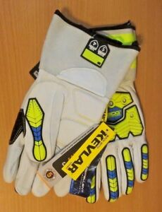 Made W Kevlar Cut Level 5 New Bdg Gloves Size L Large Water Repellent Leather