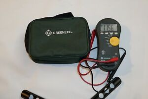 Greenlee Dm 330 Handheld Trms Digital Mm True Rms
