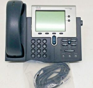Lot Of 8 Cisco Cp 7942g Voip Ip Phone W Handsets Cords Stands Tested Complete