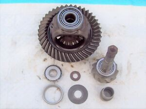 Dana 60 Differential Carrier 3 73 Ratio Ring And Pinion Super Duty Ford 99 Up