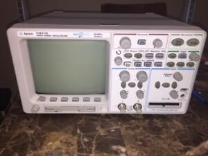 Agilent 54621d Oscilloscope W 16 Channels