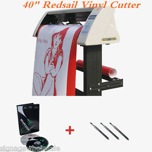 40 Redsail Vinyl Sign Cutter With Contour Cut Function