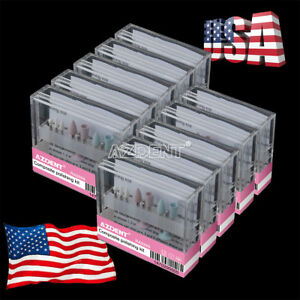 10box Composite Polishing Kit Dental For Contra Angle Low speed Handpiece Azdent