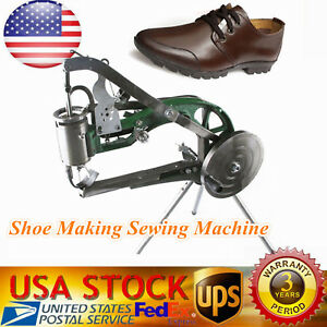 Manual Cobbler Shoe Making Sewing Machine Dual Leather Nylon Line Shoes Sewing