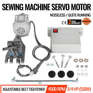 Sewing Machine Brushless Servo Motor 3 4hp 110v Industrial Mounting Adjustable
