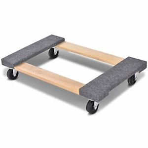 Goplus Moving Dolly Heavy Duty 30 18 Wood Furniture Appliance Mover s Dolly