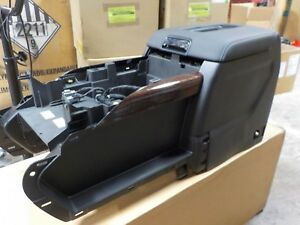 New Oem Center Console Black Leather 15 16 Chevy Suburban Tahoe 2326 7172
