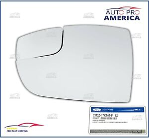 1 Ford Oem 2012 2018 Ford Focus Lh Driver Side View Mirror Glass Cm5z17k707f