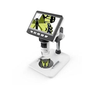 Portable 50x 1000x Lcd Electronic Digital Microscope 8 Led Magnifier 1080p