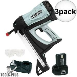 Hitachi Nc40g 1 9 16 In Gas Powered Concrete Nailer 3x New
