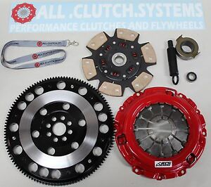 Acs Stage 3 Clutch Kit Racing Flywheel For Acura Rsx 2 0l Honda Civic Si