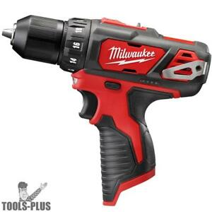 Milwaukee 2407 20 M12 3 8 Drill Driver tool Only New