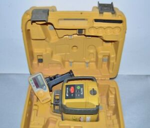 Topcon Rl h4c Self leveling Slope Rotary Laser Level W Receiver