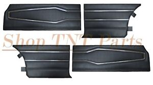 1970 Dodge Charger Door Panels Front Rear Colors Available Black Blue White