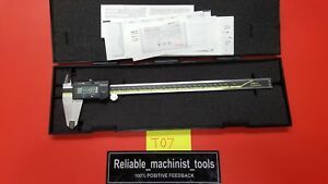 excellent mitutoyo Japan Made 12 In Absolute Digital Caliper machinist Tool t07