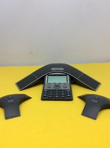 Cisco 7937 Ip Conference Station Uc Phone Cp 7937 W x2 Microphones