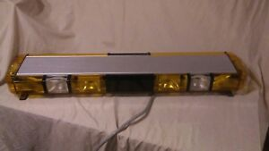 Whelen Edge 9000 Amber Strobe Warning Lightbar Light Bar