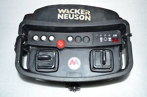Wacker Neuson 0165514 Remote Control Transmitter For Rt82 Sc2 Rt56 Sc2 Rollers