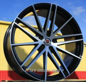 20 Inch Red Sport 120 Black Mf 4 Wheels 4 Tires 5x4 5 5x114 3 Camry Avalon