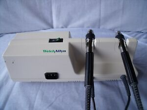 Welch Allyn 767series Grey Otoscope ophthalmoscope Wall Transformer No Heads L5