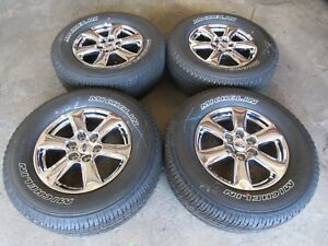 New Takeoff 2015 2018 Original Ford F150 Chrome 18 Wheels And Tires Set