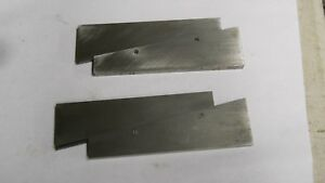 Starrett 154 f Adjustable Parallels Used 2 Pieces