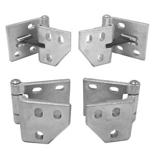 Kit 1967 1972 Chevy Pickup Truck Upper Lower Door Hinges Gmc Truck L R Sides