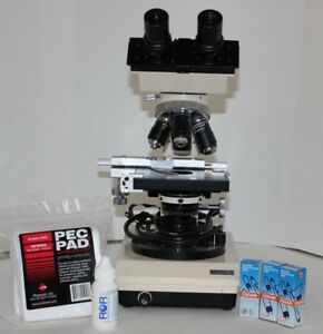 Refurbished Swift M1000 d Compound Microscope Extra Bulbs Veterinary medical