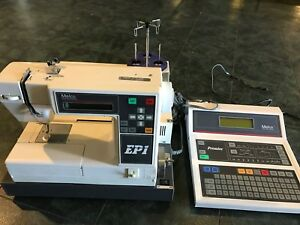 Melco Ep 1 Commercial Embroidery Machine W Keyboard Melco Premier