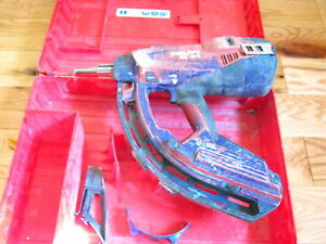 Hilti Gx 120 me Fully Automatic Gas Actuated Nail Gun Fastening Tool
