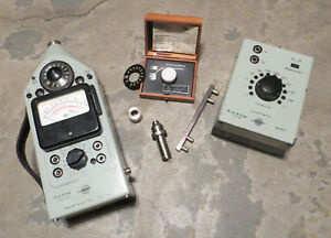 Bruel Kjaer 2204 With 2213 Octave Filter And 4144 Microphone