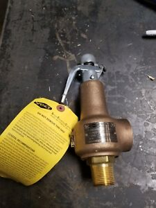 Spence Eng Co 1 Brass Pressure Relief Valve Steam Water Etc