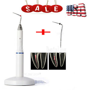 Usps Dental Wireless Gutta Percha Obturation System Endo Heated Pen 2 Tips