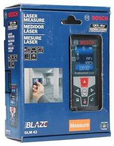 Bosch Blaze Glm 42 135 Ft Laser Measure With Full color Display New