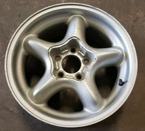 Aluminum Alloy Wheel 16 Inch 16x7 5 Mustang Gt Lx 5 0 94 95 Pony 5 Star Oem