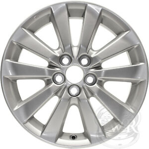 New 16 Replacement Alloy Wheel Rim For 2009 2010 2011 Toyota Corolla 69544
