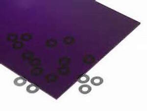 Purple Transparent Acrylic Plexiglass Sheet 1 16 X 6 X 12 3073