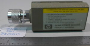 Hp 8481a Power Sensor 10 Mhz To 18 Ghz 30 To 20 Dbm 2 Tested And Working