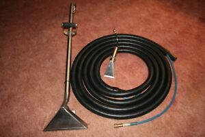 Carpet Cleaning Wand 25 Foot Hose Upholstery step Tool Truck Mount Or Portable