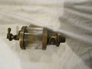 Used Vintage American Lub r Co Detroit Mich Machine With Glass Cylinder 3
