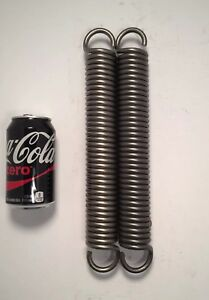 283 Wire Heavy Duty Extension Spring Lot Of 2