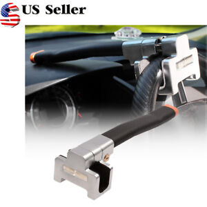 Universal Vehicle Car Top Mount Steering Wheel Anti Theft Device Security Lock
