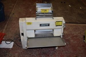 Anets Sdr 21 Dough Roller Sheeter Double Pass Through Pizza Free Shipping